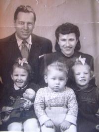 Daniela Švandová, dětství