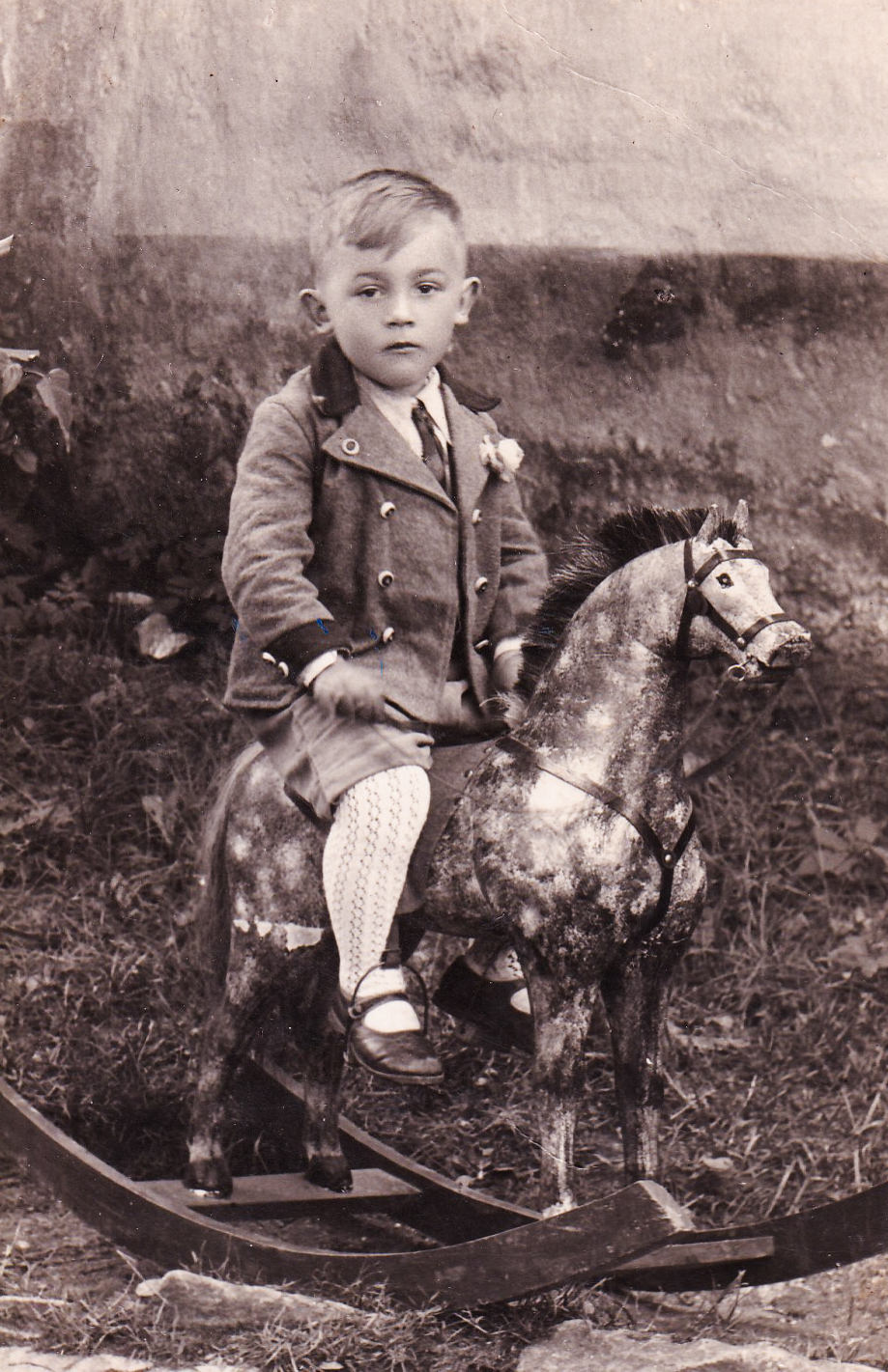 Emil Baierl as a child
