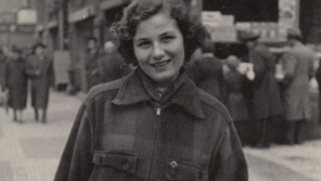 Anna Tesařová-Koutná kolem roku 1946.