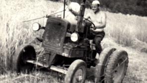 Jan Sedláček v Růžďce na Vsetínsku v 60. letech