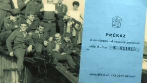 Modrá knížka byl průkaz o osvobození od vojenské povinnosti. Foto: Paměť národa
