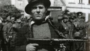Konstantin Alexejevič Korovin, jeden z uprchlíků schovávajících se nad Lipovcem, kterým vesničané pomáhali. Zdroj: Holický odboj za 2. světové války/Hana Faltysová