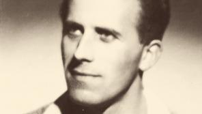 Jiří Lukšíček několik měsíců po návratu z jáchymovských lágrů v roce 1960. Foto: Paměť národa