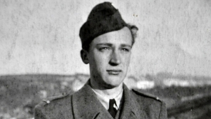 Poručík Antonín Zelenka, 1948. Zdroj: archiv Antonína Zelenky