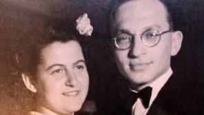 Edith s Bobbym, rok 1945/46. Zdroj: Soutěž Příběhy 20. století