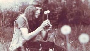 Alik Olisevyč na setkání hippies v lotyšské Rize v roce 1979. Foto: archiv Alika Oliksevyče