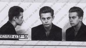 Foto Mirislava Froyda z roku 1954 z vyšetřovacího spisu ABS. Zdroj: Paměť národa - Archiv