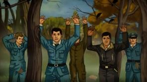 Zatčení Imricha Gablera na polském území Sověty v animovaném příběhu pro Ceny Paměti národa 2011.