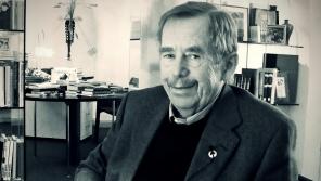 Václav Havel při natáčení rozhovoru pro Paměť národa v březnu roku 2010.