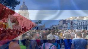 Protesty na Kubě. Zdroj: Post Bellum