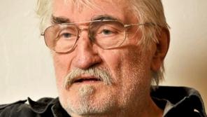 Pavel Landovský při natáčení v roce 2009.