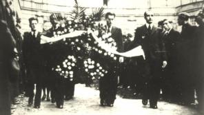 Pohřeb Jana Opletala.