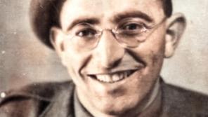 Bernard Papánek v roce 1942 jako voják čs. zahraniční armády.