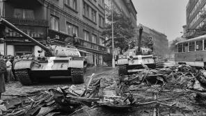 Vzpomínky Pavla Landovského, Petra Maišaidra a Jiřího Koldy na srpen 1968