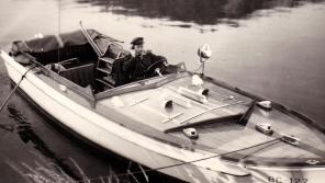V době, kdy Vladimír sloužil u poříčního oddílu. Zdroj: archiv pamětníka