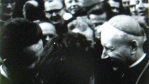 Kardinál Wyszinski s jezuity z Československa