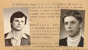 Karel Žižka (vlevo) a Josef Zdráhal skončili ve vězení. Zdroj: Paměť národa