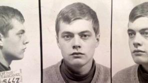 René Matoušek na fotografii v trestním spisu. Zdroj: Paměť národa