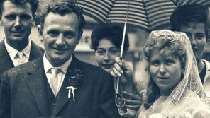 Svatba Alice a Ludvíka. Foto: Paměť národa