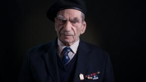 Viktor Wellemín v roce 2015, kdy převzal Cenu Paměti národa. Foto Lukáš Žentel