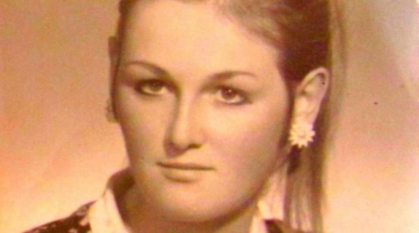 Drahomíra Šinoglová v roce 1970.