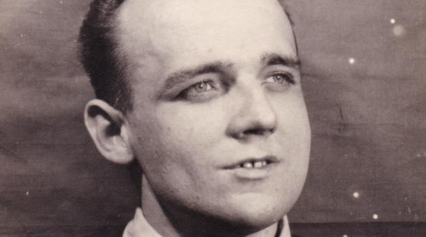 Evžen Plocek čtyři roky před svou smrtí. Upálil se 4. dubna 1969 v Jihlavě na náměstí. Foto: Aleš Plocek