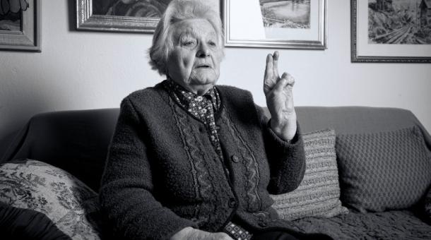 Naděžda Maňhalová se dožívá 90 let. Na dobu věznění se jí nevzpomíná lehce. Foto: Nguyen Phuong Tao