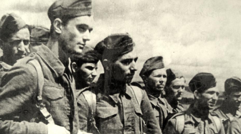 Českoslovenští vojáci v Buzuluku