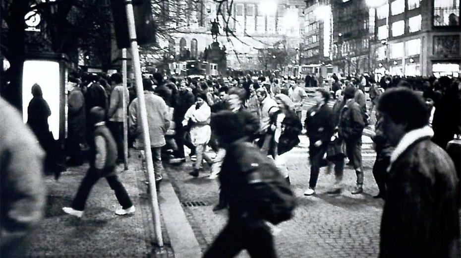 Palachův týden, demonstrace 16. ledna 1989