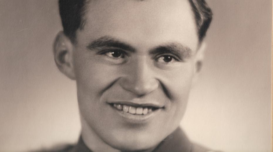 Čtyriadvacetiletý Jan Plovajko rok po válce. Foto: Paměť národa