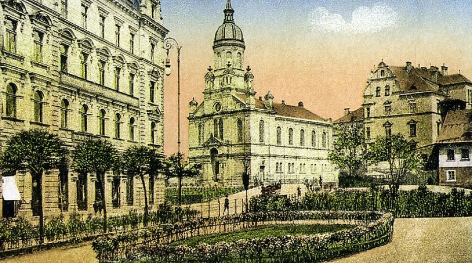 Neorenesanční synagoga v Liberci byla jednou z dominant města. Foto: Wikimedia Commons
