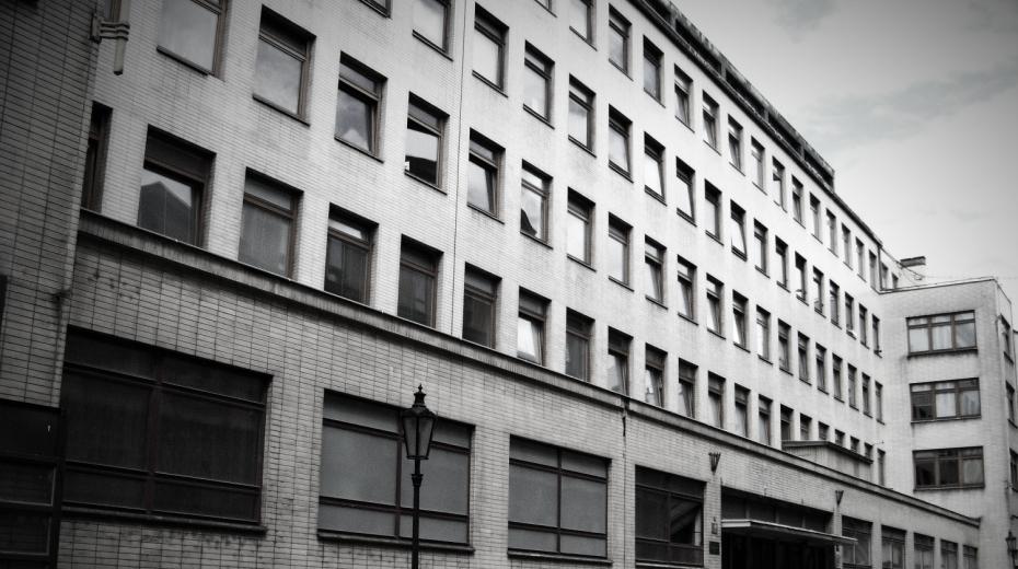 Někdejší sídlo StB v Bartolomějské ulici v Praze, tzv. kachlíkárna.