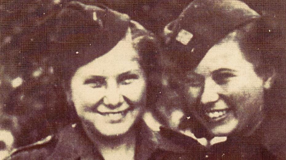 Sestry ve zbrani. Příběh Věry a Vandy Biněvských, které bojovaly na východní frontě