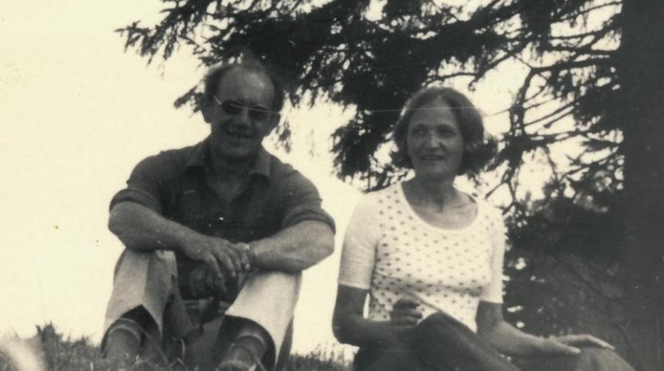 Miroslav Kabelka a Jiřina Čechová v roce 1976.
