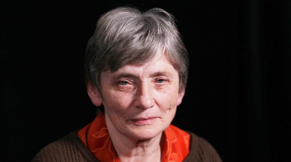 Jaroslava Poláková při natáčení pro Paměť národa v roce 2019. Zdroj: Post Bellum