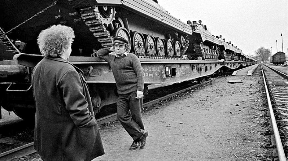 Milovice 1991. Foto: Dana Kyndrová
