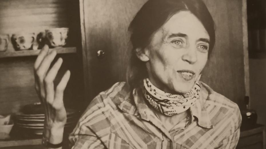 Otta Bednářová v den propuštění z vězení v roce 1981. Foto: Karel Kyncl/archív Otty Bednářové