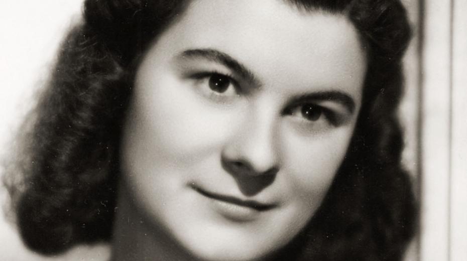 Dagmar Procházková, rozená Weitzenbauerová v roce 1948. Foto Paměť národa/archív Dagmar Procházkové
