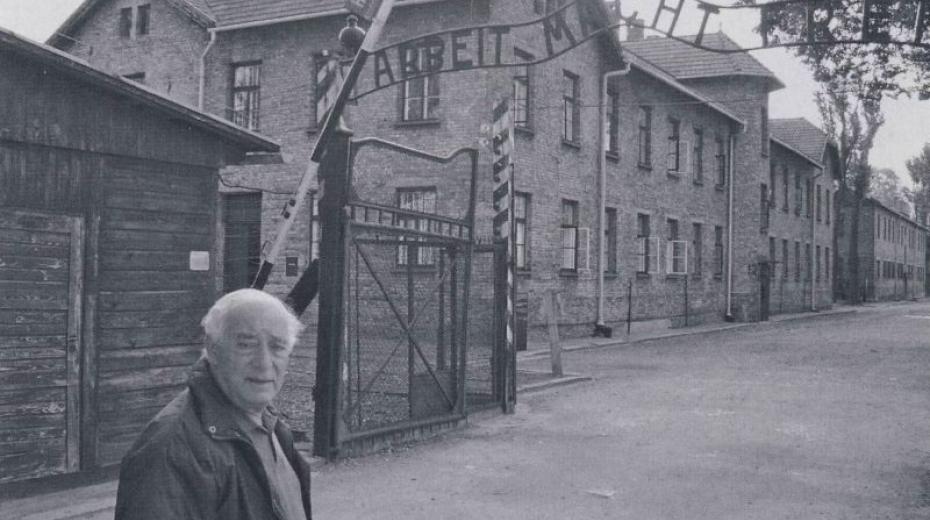 Tomáš Radil v Osvětimi