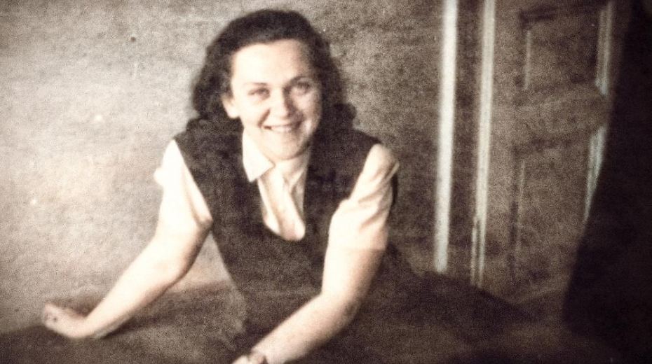 Eva Smolková-Keulemansová po válce.