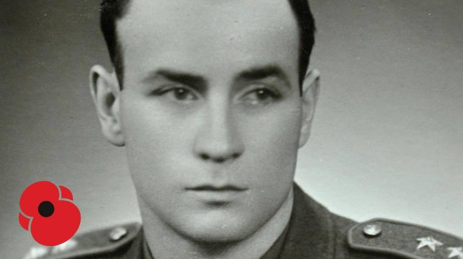 Karel Brhel po válce. Foto: Paměť národa