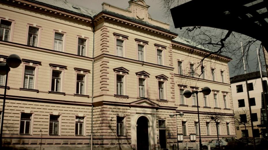 Bývalé sídlo krajského soudu v Liberci, u kterého v 50. letech soudili nekvalifikovaní stoupenci KSČ. Justiční palác dnes slouží jako vazební věznice.  Foto: Vězeňská služba ČR