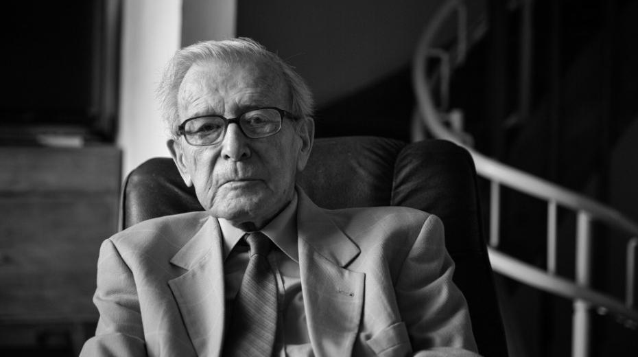 Profesor Pavel Oliva v roce 2017. Foto: Lukáš Žentel