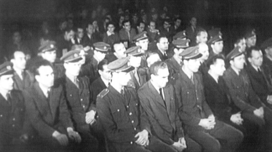 Rudolf Slánský na lavici obžalovaných