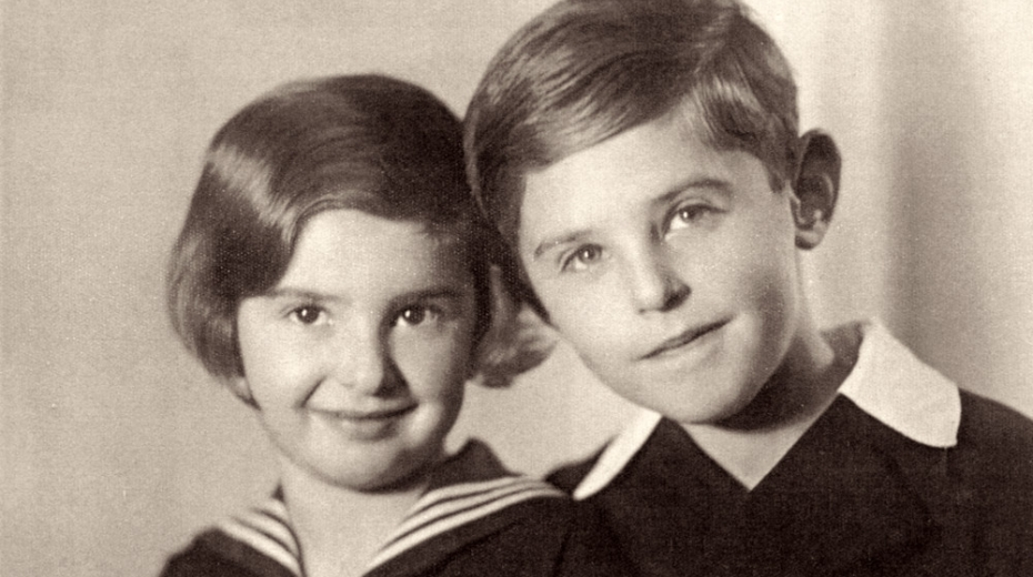 Eva a Petr Ginzovi v roce 1935. Foto: Paměť národa