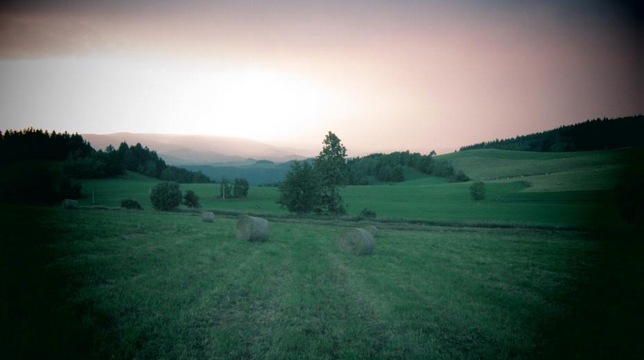 Zaniklá osada Štolnava. Foto: Vít Lucuk
