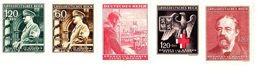 Protektorátní poštovní známky
