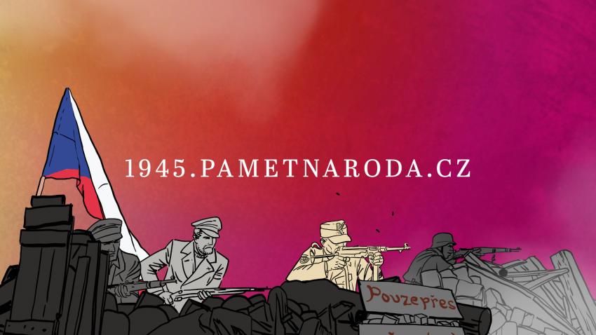 Ve speciálu Paměti národa k 75. výročí konce války na 1945.pametnaroda.cz najdete další vzpomínky na osvobození, krátké filmy a audioklipy.