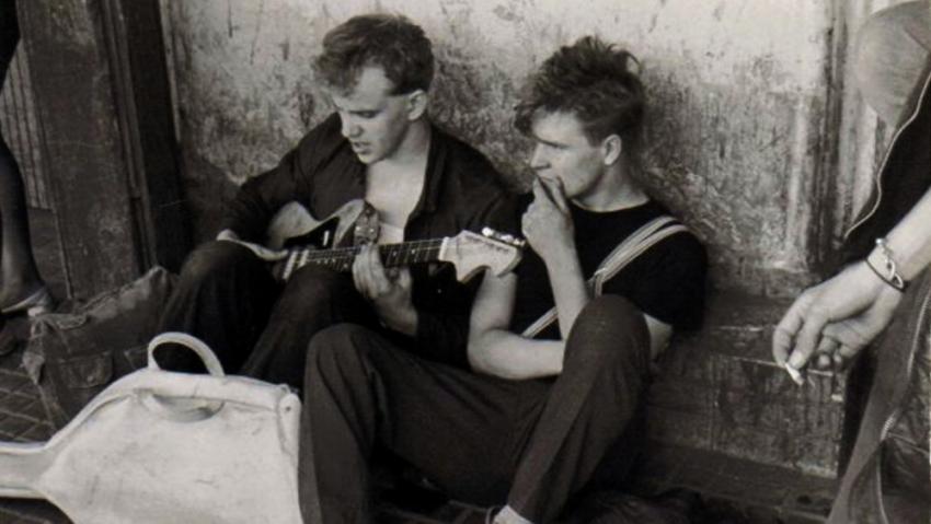 Miroslav Wanek (vlevo) v roce 1984. Foto: Paměť národa