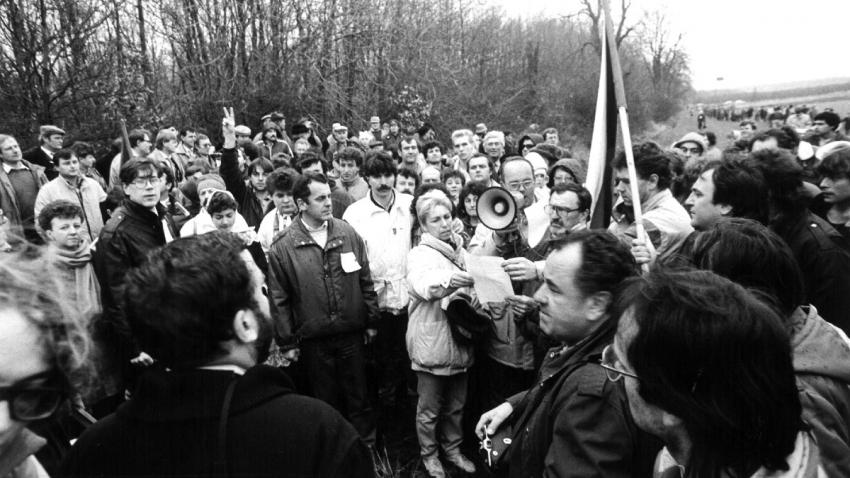 Setkání na hranici. Foto František Drábek